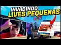 INVADI A LIVE DE UM ALEATÓRIO E CHAMEI PRO X1 NO FREE FIRE!