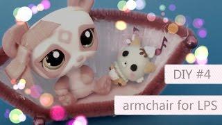 Littlest Pet Shop Do It Yourself #4 Fotel dla LPS