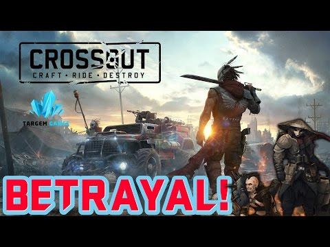 TURRET BETRAYAL!!    Crossout Part 84