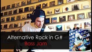 Alternative Rock in G# Bass Jam daniB5000