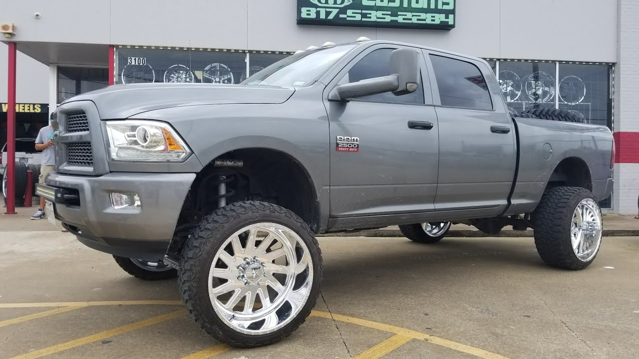 """2006 Silverado Single Cab >> Customer drove from AUSTIN to pick up some 24x14 American Force """"AKA"""" Wheels from ME! - YouTube"""