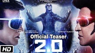 2.0 Official Teaser | Release Date Announced | Akshay Kumar, Rajnikant, Amy Jackson