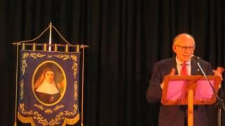 Pregón Semana Santa Colegio Gamarra (1/4): Coco presenta a Chico Banderas
