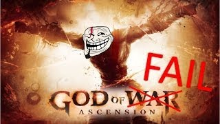 Quicktime Event FAIL Compilation: God of War Ascension (Funny Moments/Glitches)