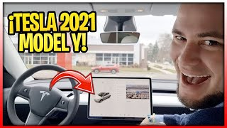 RECOGIENDO MI NUEVO TESLA MODEL Y 2021!!!!!! TESLA TAKING DELIVERY!!!!!!!