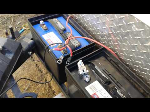 How to wire your RV Batteries.