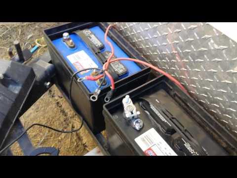 campervan hook up cables