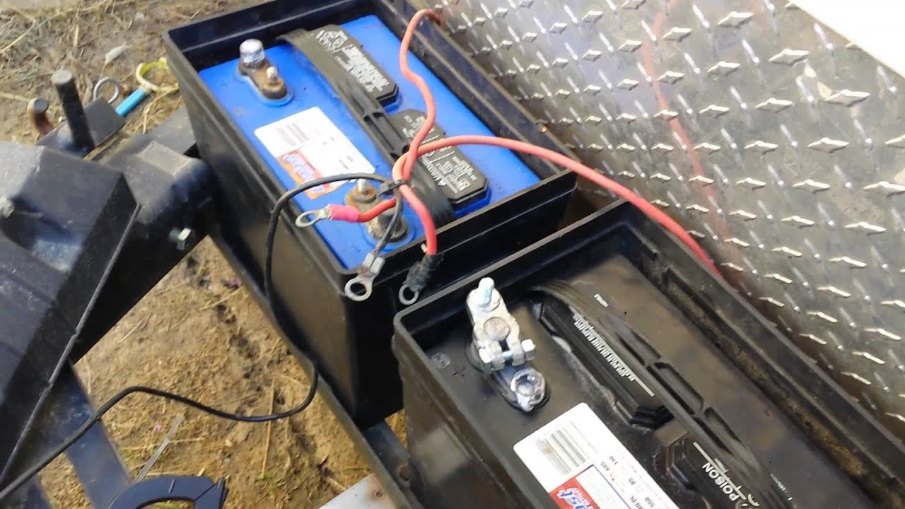 How to wire your RV Batteries  YouTube
