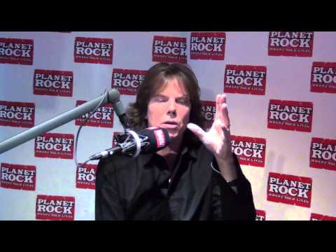 Europe's Joey Tempest Answers Fans' Questions At Planet Rock