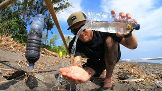 Solo survival tips (NO FOOD - NO WATER) how to find DRINKING WATER on an island. EP 21