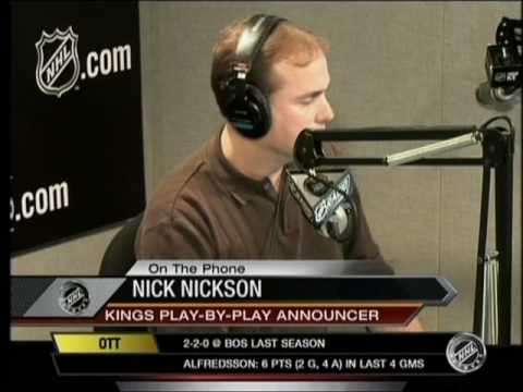 Nick Nickson's interview from the NHL network-part 2
