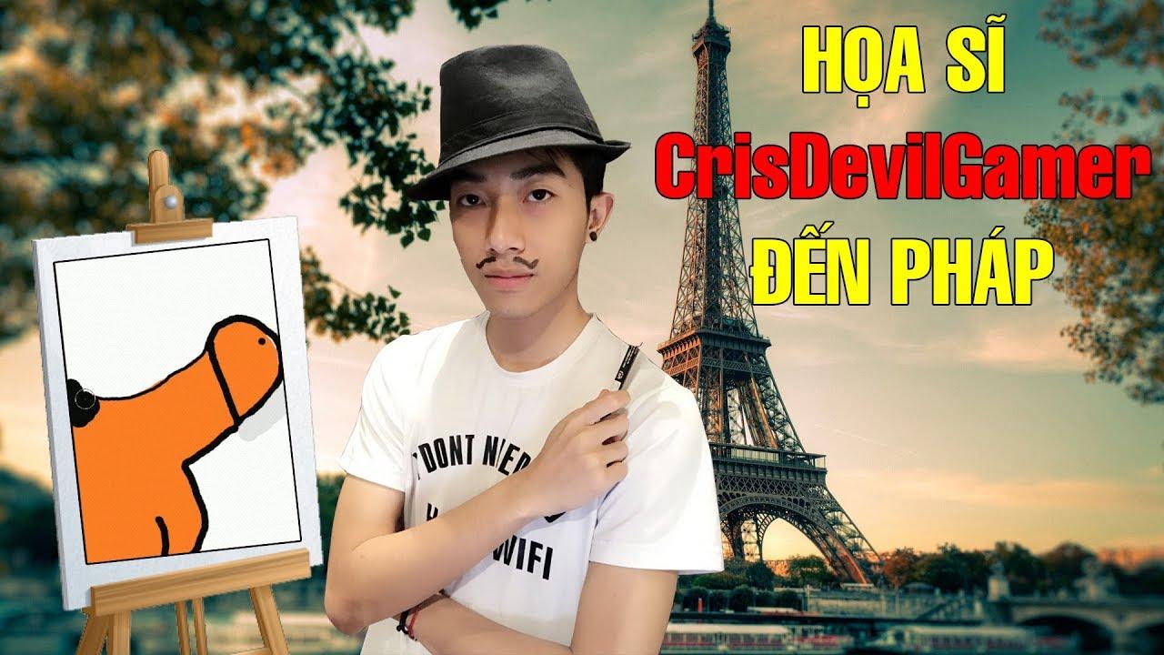 CrisDevilGamer đến Pháp làm HỌA SĨ | Passpartout Cris Devil Gamer