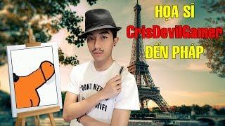 CrisDevilGamer đến Pháp làm HỌA SĨ   Passpartout Cris Devil Gamer