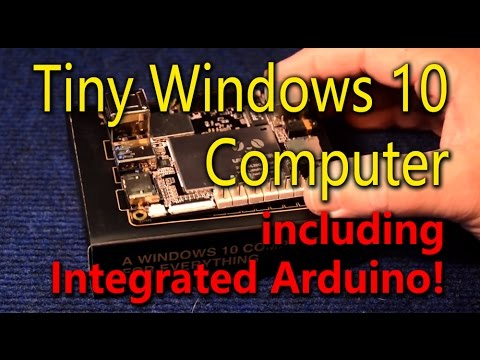 Tiny Full Blown Windows 10 Computer w/Integrated Arduino!