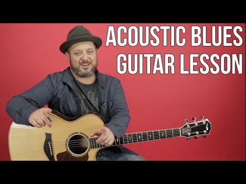 Acoustic Blues Guitar Lesson