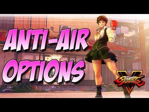 SFV: Sakura Tips - Anti-Air Options
