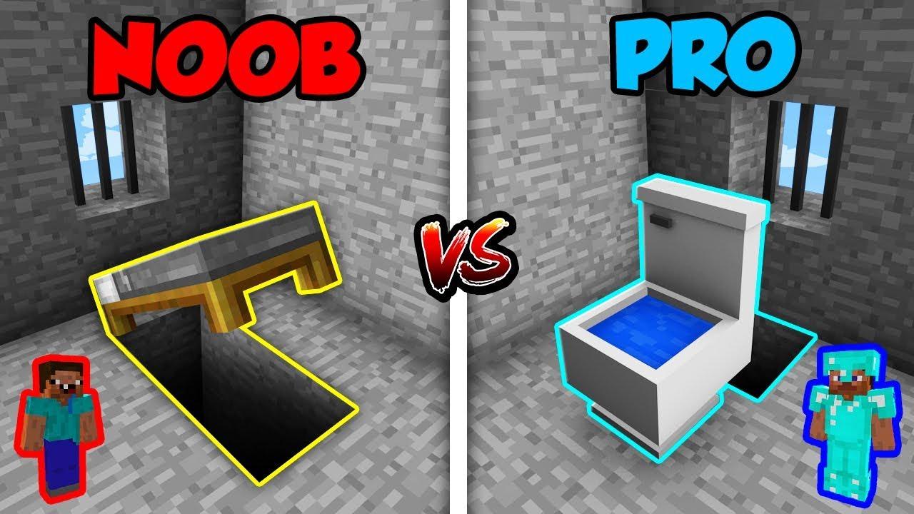 Minecraft NOOB vs. PRO: PRISON SECRET ESCAPE in Minecraft!
