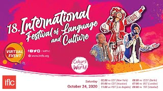 #IFLC2020 | 18th IFLC - Colours of the World | Virtual Event | Online Event | Gösteri | 24.10.2020