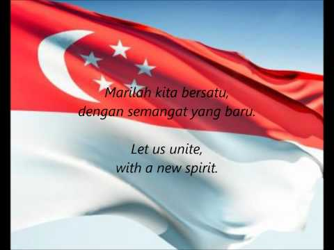 "Singaporean National Anthem - ""Majulah Singapura"" (MS/EN)"