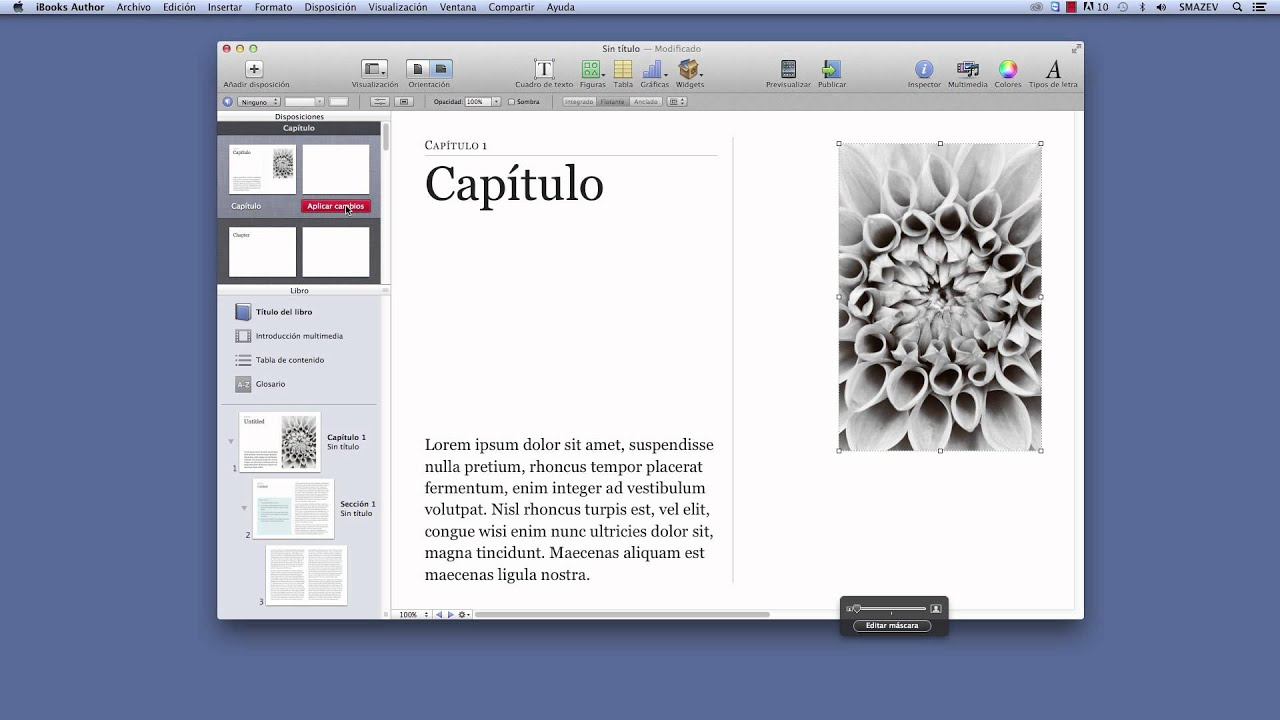 Creación de plantillas para iBooks Author - YouTube