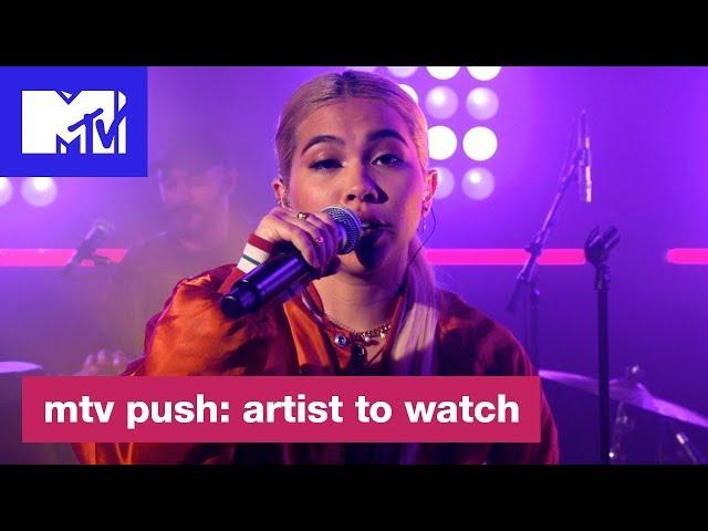 Hayley Kiyoko Performs 'Curious' | MTV Push: Artist to Watch