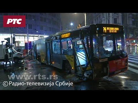 Težak udes u centru Beograda, 14 povređenih