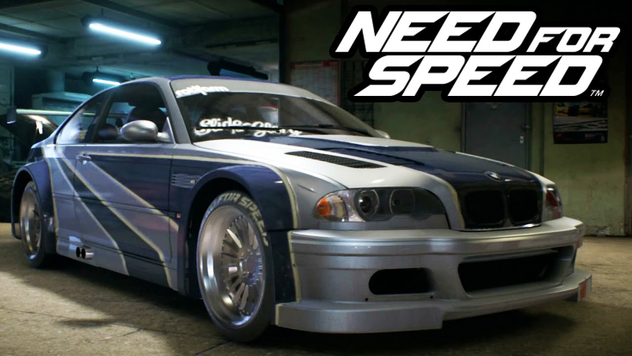 NEED FOR SPEED (2015) - A BMW M3 DO MOST WANTED - YouTube