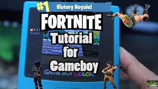 How to download Fortnite on the Nintendo Gameboy Tutorial Parody