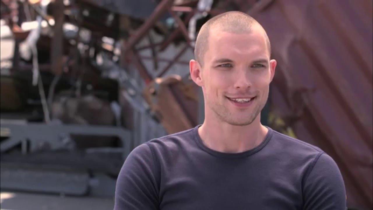 deadpool ajax on set interview ed skrein youtube
