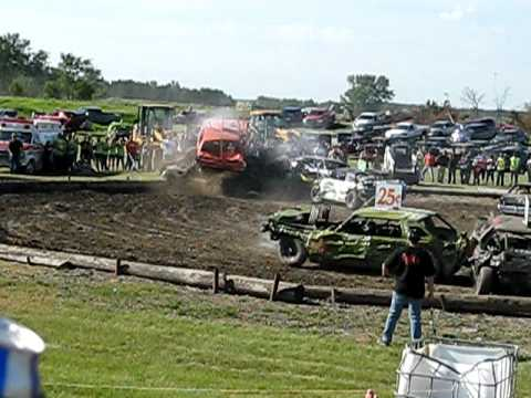 Esmond nd demolition derby