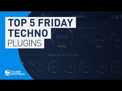 Best VST Plugins For Techno & Tech House | Top 5 Friday