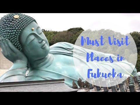 MUST VISIT PLACES IN FUKUOKA |  TRAVEL FUKUOKA |  JAPAN TRAVEL VLOG