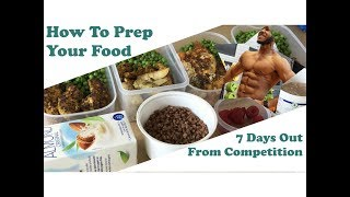 How to do Food Prep | Fat Loss Diet | Vlog #11