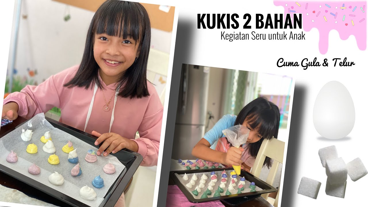 Cuma ada Telur dan Gula di Dapur   Yuk bikin Meringue buat Kegiatan Seru Anak di Rumah