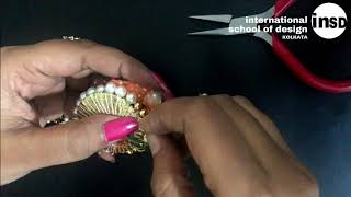 DIY | How to make HANDMADE RAKHI | International School of Design, Kolkata