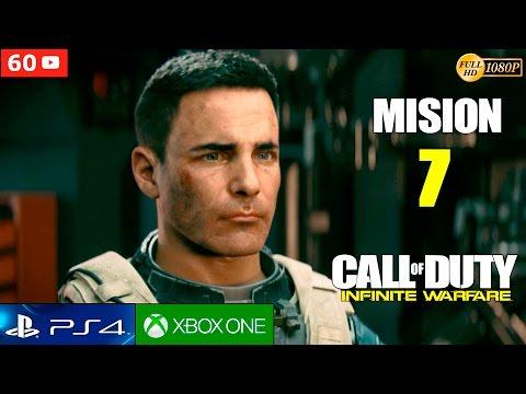 Call of Duty Infinite Warfare Mision 7 Gameplay Español PS4 | Campaña Parte 7 (1080p 60fps)