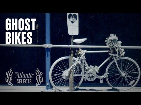 The Ghosts of Cyclists That Haunt City Streets