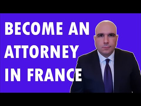 How To Become A Lawyer In FRANCE?  (Young Foreign Lawyer Profile)