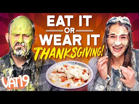 Eat It or Wear It Challenge #3 // Thanksgiving Edition
