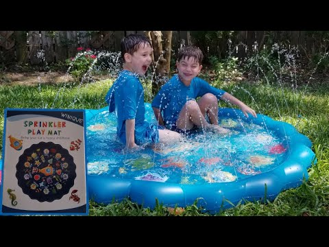 Sprinkler Play Mat By Winique