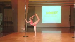 Катя Трохина - Catwalk Dance Fest IX[pole dance, aerial] 12.05.18.