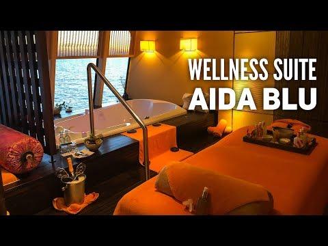 Rundgang: Die Wellness Suite an Bord von AIDAblu [AIDAmar, AIDAstella & AIDAsol]