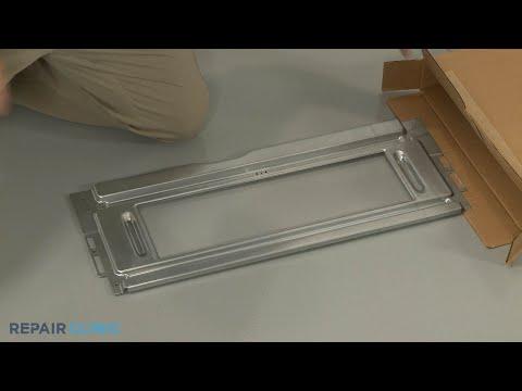 Upper Oven Door Retainer - Kitchenaid Double Oven Gas Range (Model #KFGD500ESS04)