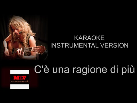 Una ragione di più - Karaoke (Ornella Vanoni)