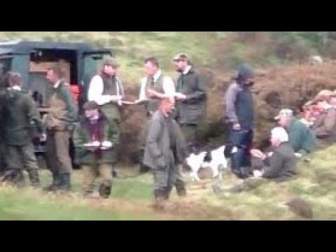 THE LUNCHEON - THE GROUSE MOOR SHOOTERS - ARISTOCRACY