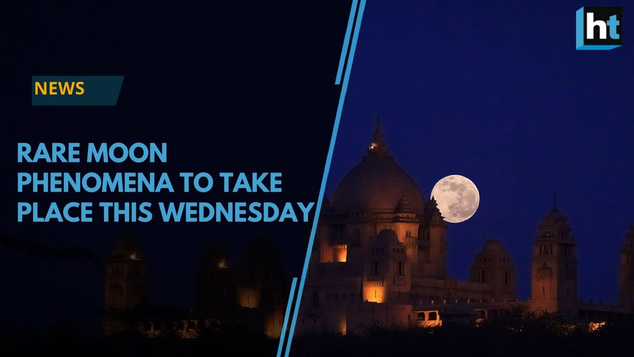 Witness the Blue Moon, Super Moon and Blood Moon this Wednesday!