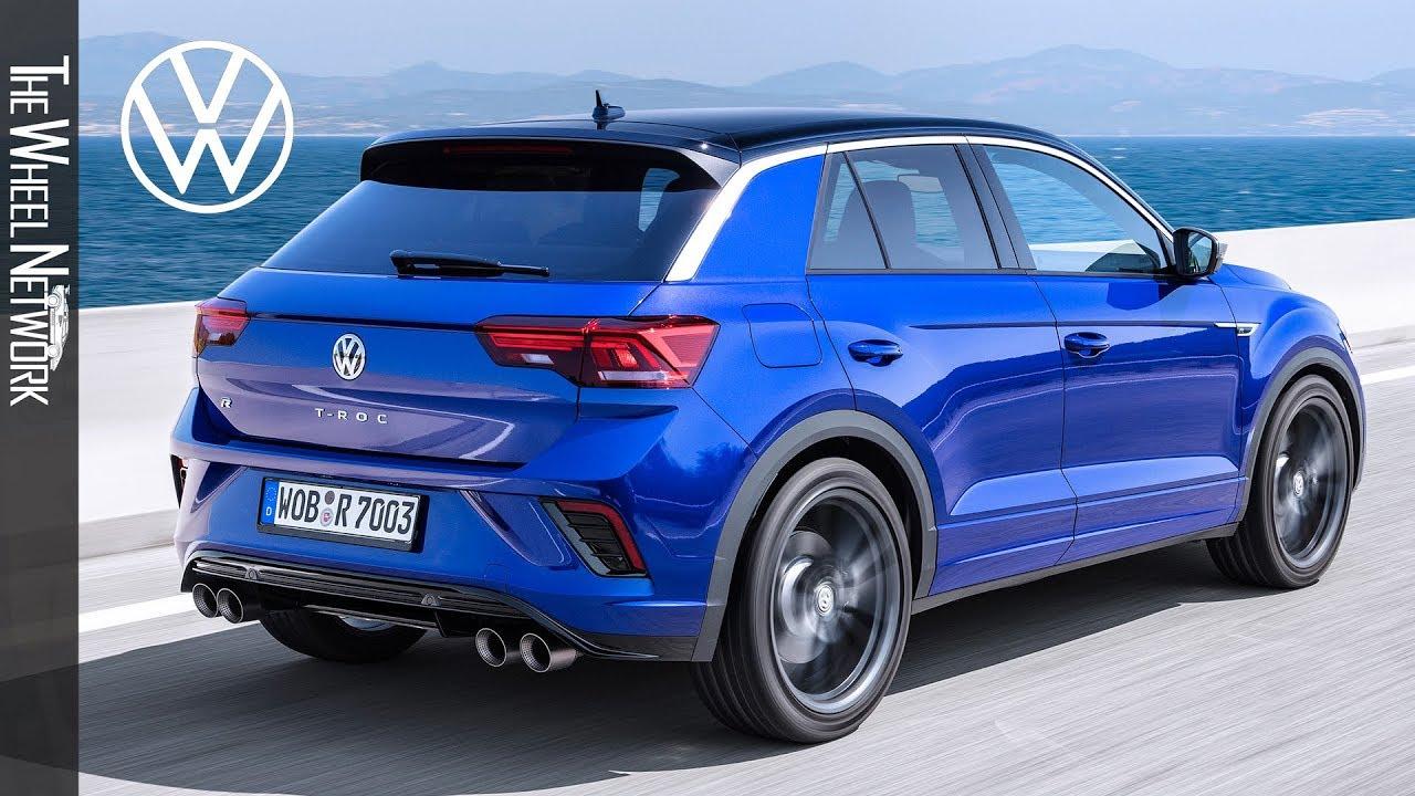 2020 Volkswagen T Roc R Lapiz Blue Driving Interior Exterior Youtube