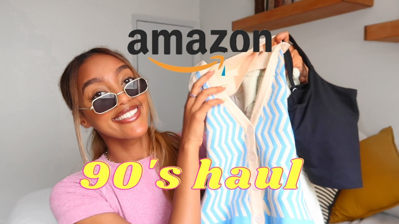 TRENDY AMAZON FASHION FINDS! Amazon clothing haul 2021   Hewan
