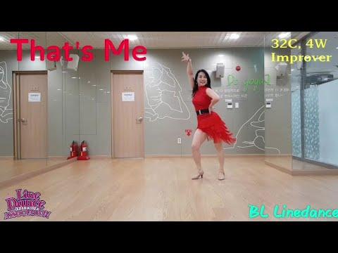 That's Me Linedance(Improver) Nancy Lee (Demo & Tutorial)