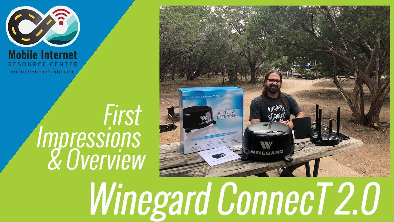 Winegard Connect 20 Wifi Extender 4g Modem First Look And Rv Antenna Wiring Diagram Product Overview